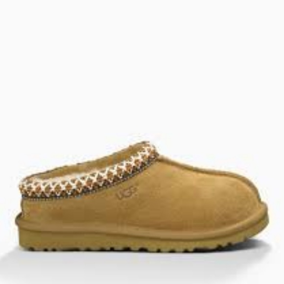 e3cd2df5765 UGG Tasman CHESTNUT (5252) Kids 4 Slipper 3058